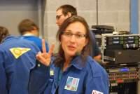 Trudi, die Konvent-Chefin, hat alles im Griff